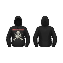 Iron Maiden - A Matter Of Life & Death - Hooded Sweat Shirt Zip (Men)