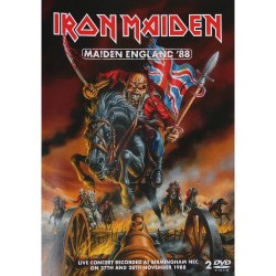Iron Maiden - Maiden England '88 - DOUBLE DVD