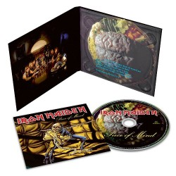 Iron Maiden - Piece Of Mind - CD DIGIPAK