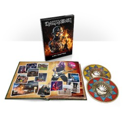 Iron Maiden - The Book Of Souls : Live Chapter [Deluxe Edition] - 2CD DIGIBOOK A5