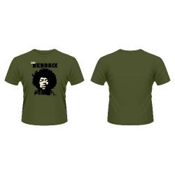 Jimi Hendrix - Close Up - T-shirt (Men)