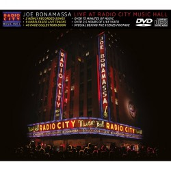 Joe Bonamassa - Live At Radio City Music Hall - CD + DVD slipcase