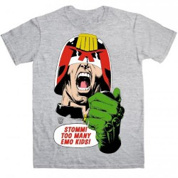 Judge Dredd - Emo Kids - T-shirt (Men)