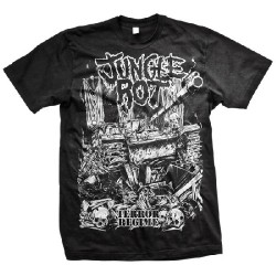 Jungle Rot - Terror Regime - T-shirt (Men)