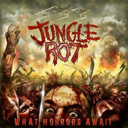 Jungle Rot - What Horrors Await - LP COLOURED