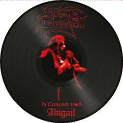King Diamond - Abigail In Concert 1987 - LP PICTURE