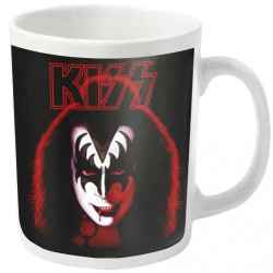 Kiss - Gene Simmons (White) - MUG