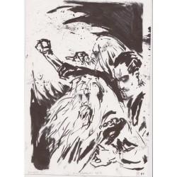 Koldbrann - Koldbrann - Original Drawing