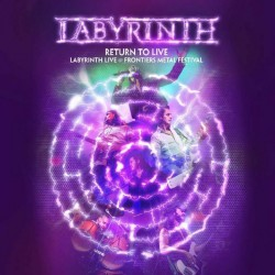 Labyrinth - Return To Live - DOUBLE LP Gatefold