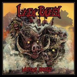 Lady Beast - Vicious Breed - LP