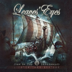 Leaves' Eyes - Sign Of The Dragonhead - Limited Tour Edition - CD Digipak + CD bundle