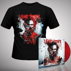 Leng Tch'e - Razorgrind - LP gatefold coloured + T-shirt bundle