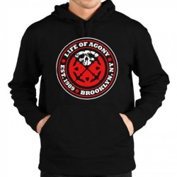 Life Of Agony - Underground - Hooded Sweat Shirt Zip (Men)