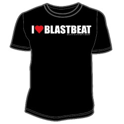 Lost Sphere Project - I Love Blastbeat - T-shirt (Men)