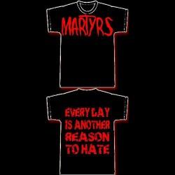 MARTYRS - Logo - T shirt girlie
