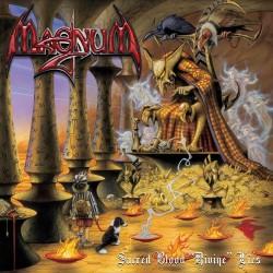 "Magnum - Sacred Blood ""Divine"" Lies - DOUBLE LP GATEFOLD COLOURED + CD"