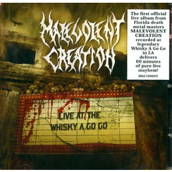 Malevolent Creation - Live at the Whisky a Go Go - CD