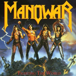 Manowar - Fighting The World - LP COLOURED