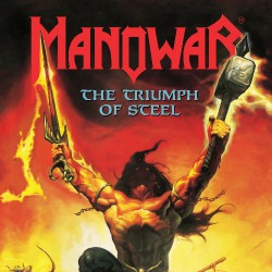 Manowar - The Triumph Of Steel - DOUBLE LP COLOURED
