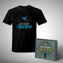 Mark Deutrom - The Blue Bird - CD DIGISLEEVE + T-shirt bundle (Men)