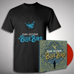 Mark Deutrom - The Blue Bird - LP gatefold coloured + T-shirt bundle (Men)