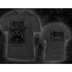 Master - Let's Start A War (Grey) - T-shirt