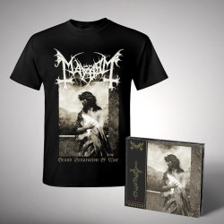 Mayhem - Bundle 1 - CD DIGIPAK + T-shirt bundle (Men)