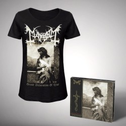 Mayhem - Bundle 2 - CD DIGIPAK + T-shirt bundle (Women)