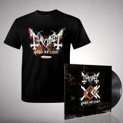Mayhem - Bundle 5 - LP gatefold + T-shirt bundle (Men)