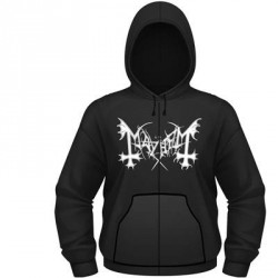 Mayhem - De Mysteriis Dom Sathanas - Hooded Sweat Shirt Zip