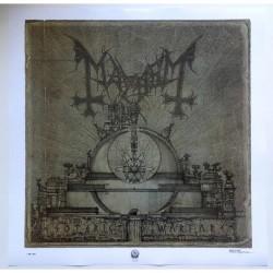 Mayhem - Esoteric Warfare - Poster