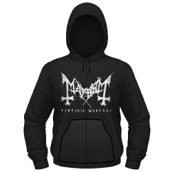 Mayhem - Esoteric Warfare - Hooded Sweat Shirt Zip
