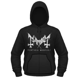Mayhem - Esoteric Warfare - Hooded Sweat Shirt Zip