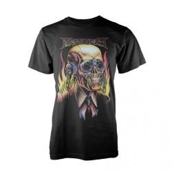 Megadeth - Flaming Vic - T-shirt
