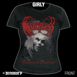 Mercyless - Coloured Funeral - T-shirt (Women)