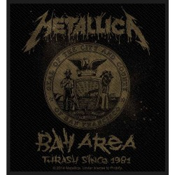 Metallica - Bay Area Thrash - Patch