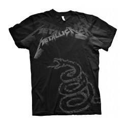 Metallica - Black Album Faded - T-shirt (Men)