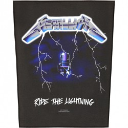 Metallica - Ride The Lightning - BACKPATCH