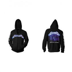 Metallica - Ride The Lightning - Hooded Sweat Shirt Zip (Men)