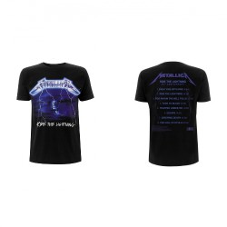 Metallica - Ride The Lightning Tracks - T-shirt (Men)