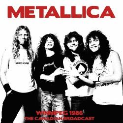Metallica - Winnipeg 1986 - DOUBLE LP Gatefold
