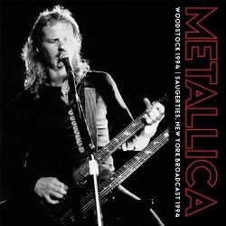 Metallica - Woodstock 1994 - Saugerties, New York Broadcast 1994 - DOUBLE LP Gatefold