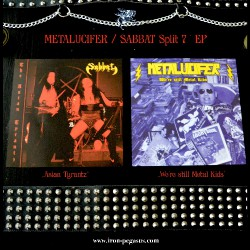 "Metalucifer - Sabbat - Split - 7"" vinyl"