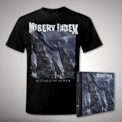 Misery Index - Bundle 1 - CD + T-shirt bundle (Men)