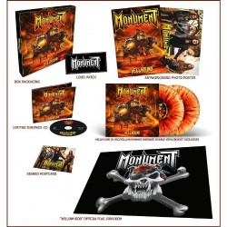 Monument - Hellhound - CD BOX