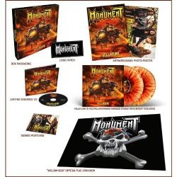 Monument - Hellhound - CD BOX