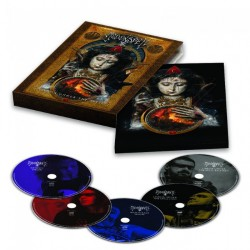 Moonspell - Lisboa Under The Spell - BLU-RAY + DVD + 3CD DIGIPAK