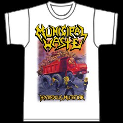 Municipal Waste - Hazardous mutation (White) - T-shirt (Men)
