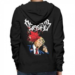 Municipal Waste - Trump Walls Of Death - Hooded Sweat Shirt Zip