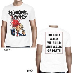 Municipal Waste - Trump Walls Of Death [white] - T-shirt (Men)